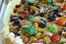 Quiche, pizza & co