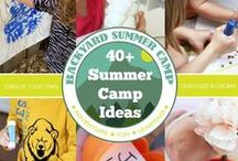 Summer Crafts and Activities for Kids / A collection of fun summer crafts and activities for kids to keep them busy during their school break.