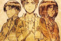 Shingeki No Kyojin / Potatoes with anger.