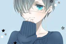Kuroshitsuji / I wish I had Sebastian as a butler because he is badass.