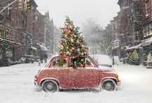 Christmas and Winter / Santa Claus, cookies, advent calendars, vintage ornaments and winter dreaming❄️❄️❄️.