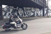 graffiti urban outdoor street art  / outsider art .....why not make the abandoned world more beautiful