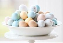 Easter and Spring! / Bunnies, chicks, chocolate eggs and baskets to put them in!