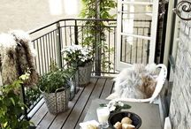 Ideas for my new and undecorated balcony
