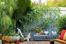 Deck & Patio Ideas / by Sussedout