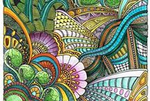 *Art: Zentangle, ZIA, Zendala / This is a beautiful board, developed by a group of pinners who enjoy zentangle and mandala. This little pinpal community has done a fantastic job. I've added a number of pinners (Sept. '12) and some are spamming or pinning completely outside the theme of the board. We don't mind pins that inspire you for your own doodling, but we do mind pins that obviously don't belong here. Absolutely no political, religious or inflammatory pins. Show us your work too. We'd love to see how you're coming along! / by BethB's ArtZ Inspirations