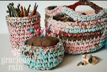 Crochet and Yarn Art / by Rayanna Wojahn DeFord