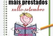 Máis prestados Literatura Infantil. Verán 2012 / Os máis prestados de LITERATURA INFANTIL na Biblioteca Ánxel Casal Xullo-Setembro 2012