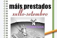 Máis préstados literatura. Verán 2012 / Os máis prestados de literatura na Biblioteca Ánxel Casal. XULLO-SETEMBRO 2012