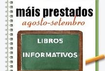 Máis prestados Libros Informativos. Verán 2012 / Os máis prestados de LIBROS INFORMATIVOS na Biblioteca Ánxel Casal XULLO-SETEMBRO 2012