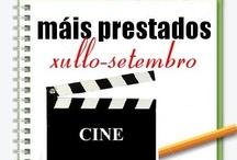 Máis prestados Cine. Verán 2012 / Os máis prestados de CINE na Biblioteca Ánxel Casal XULLO-AGOSTO 2012