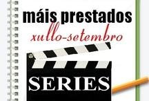 Máis prestados Series. Verán 2012 / Os máis prestados de SERIES na Biblioteca Ánxel Casal XULLO-SETEMBRO 2012