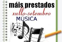 Máis prestados Música. Verán 2012 / Os máis prestados de MÚSICA na Biblioteca Ánxel Casal XULLO-SETEMBRO 2012