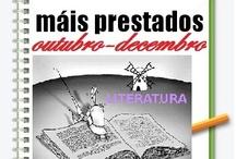Máis préstados Literatura. Outono 2012 / Os máis prestados de literatura na Biblioteca Ánxel Casal. OUTUBRO-DECEMBRO 2012