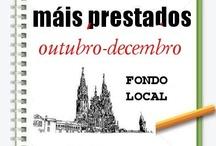 Máis prestados Fondo Local, Outono 2012 / Os máis prestados de Fondo Local na Biblioteca Ánxel Casal. OUTUBRO-DECEMBRO 2012