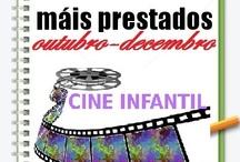 Máis prestados Cine Infantil. Outono 2012 / Os máis prestados de CINE INFANTIL na Biblioteca Ánxel Casal Outubro-Decembro 2012