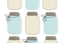 """Gift Giving / Whether it's for a birthday or a """"just because"""" gift, mason jars can make the perfectly personalized gift!"""