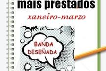 Máis Prestados Bedeteca Inverno 2013 / Os máis prestados da BEDETECA na Biblioteca Ánxel Casal. XANEIRO-MARZO 2013
