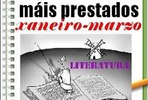 Máis prestados LITERATURA Inverno 2013 / Os máis prestados de LITERATURA na Biblioteca Ánxel Casal. XANEIRO-MARZO 2013