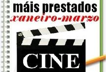 Máis prestados CINE Inverno 2013 / Os máis prestados de CINE na Biblioteca Ánxel Casal. XANEIRO-MARZO 2013