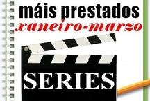 Máis prestados SERIES Inverno 2013 / Os máis prestados de SERIES na Biblioteca Ánxel Casal. XANEIRO-MARZO 2013