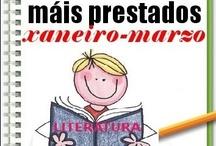 Máis prestados LITERATURA INFANTIL Inverno 2013 / Os máis prestados de LITERATURA INFANTIL na Biblioteca Ánxel Casal. XANEIRO-MARZO 2013