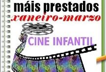 Máis prestados CINE INFANTIL Inverno 2013 / Os máis prestados de CINE INFANTIL na Biblioteca Ánxel Casal. XANEIRO-MARZO 2013