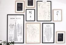 Gallery Walls / Ideas for future gallery walls  / by Monika Hibbs