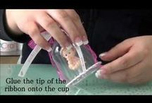 """LACrafts DIY Video Tutorials! / DIY, DIY, & More DIY!  Many of our customers have asked us how we make our centerpiece and favor samples, and now we are here to show you our step by step DIY tutorials!   We will also show you some of our favorite items, and give you great product information.   Join us in """"Crafting Memories"""" here on our Pinterest!"""