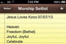 Worship Setlists / A collection of worship set lists from services I've been a part of. More for my record, but I hope it blesses somebody. / by Peter Webb