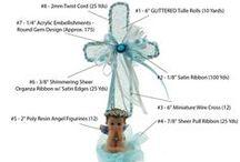 DIY Baptism Centerpieces & Favors From LACrafts.com