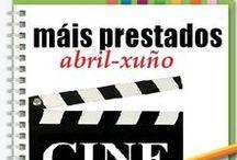Máis prestados CINE Primavera 2013 / Os máis prestados de CINE na Biblioteca Ánxel Casal. ABRIL-XUÑO 2013