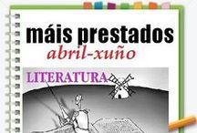 Máis prestados LITERATURA Primavera 2013 / Os máis prestados de LITERATURA na Biblioteca Ánxel Casal. ABRIL-XUÑO 2013