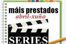 Máis prestados SERIES Primavera 2013 / Os máis prestados de SERIES na Biblioteca Ánxel Casal. ABRIL-XUÑO 2013