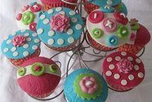 Cupcakes / A cupcake dreamers...dream come true.....yummy!