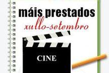 Máis prestados CINE Verán 2013 / Os máis prestados de CINE na Biblioteca Ánxel Casal XULLO-SETEMBRO 2013