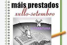 Máis prestados LITERATURA Verán 2013 / Os máis prestados de LITERATURA na Biblioteca Ánxel Casal XULLO-SETEMBRO 2013