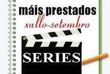 Máis prestados SERIES Verán 2013 / Os máis prestados de SERIES na Biblioteca Ánxel Casal XULLO-SETEMBRO 2013