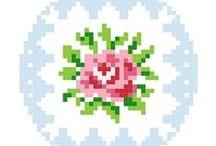Cross Stitch: Roses / by Christel Krampitz
