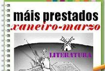 Máis prestados LITERATURA INVERNO 2014 / Os máis prestados de LITERATURA na Biblioteca Ánxel Casal XANEIRO_MARZO 2013