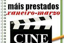 Máis prestados CINE INVERNO 2014 / Os máis prestados de CINE na Biblioteca Ánxel Casal XANEIRO_MARZO 2014