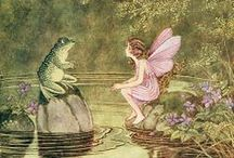 Fairies / Wee fairies and the magical world they inhabit.