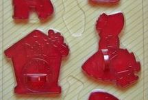 cookie cutters / All types of cookie cutters / by Maryjo Mcgraw