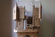 Cardboard Fun with Kids
