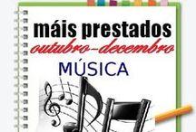 Máis prestados MÚSICA OUTONO 2014 / Os máis prestados de MÚSICA na Biblioteca Ánxel Casal OUTUBRO_DECEMBRO 2014