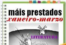 Máis prestados LITERATURA INVERNO 2015 / Os máis prestados de LITERATURA na Biblioteca Ánxel Casal XANEIRO-MARZO 2015