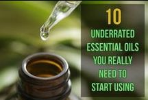 essential oils & herbs / using herbs and essential oils for health & home