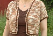 Free Summer Tops and Cardigans Knitting Patterns