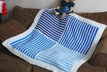Afghans, Blankets and Throws Free Knitting Patterns