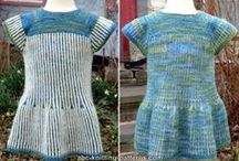 Free Dress and Skirt Knitting Patterns